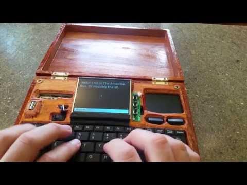 Raspberry Pi powered word processor-