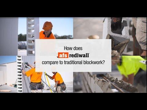 AFS Rediwall<sup>®</sup> v&#39;s blockwork challenge