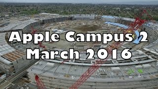 APPLE CAMPUS 2: March 2016 Construction Update 2K