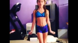 Mackenzie and little Brooke- Ponche's