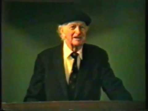 Dr. Linus Pauling on Vitamin C and Heart Disease Stanford Medical School – 27 Feb 92