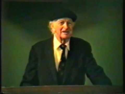 Dr. Linus Pauling on Vitamin C and Heart Disease Stanford Medical School – 27 Feb 92