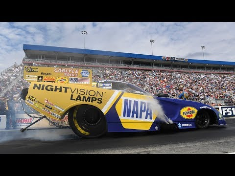 Ron Capps Races To His 60th Funny Car Win