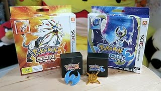 Unboxing Pokemon Sun & Moon Collectors Editions by Unlisted Leaf