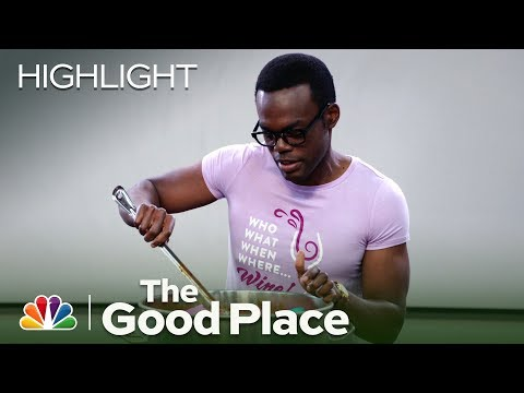 Chidi Goes Insane and Eats Peeps Chili - The Good Place (Episode Highlight)