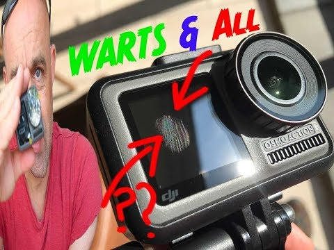 Ultimate DJI Osmo Action Cam Review:  Warts & All