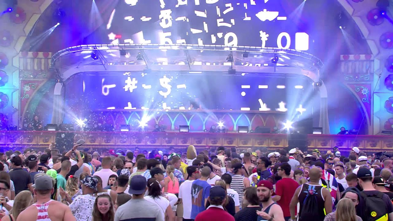 Dubfire - Live @ Tomorrowland Belgium 2015