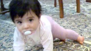 رقص دختر بچه ی یکساله ایرانی - Raghs Irani