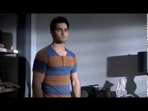 """Teen Wolf season 1 episode 09: Derek """"This. No fit!"""" scene."""