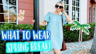 What to Wear on SPRING BREAK! Lookbook Outfit Diary! | Aspyn Ovard by Aspyn Ovard