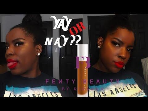 FENTY BEAUTY FOUNDATION REVIEW| Fenty Beauty Pro Filt'r #440