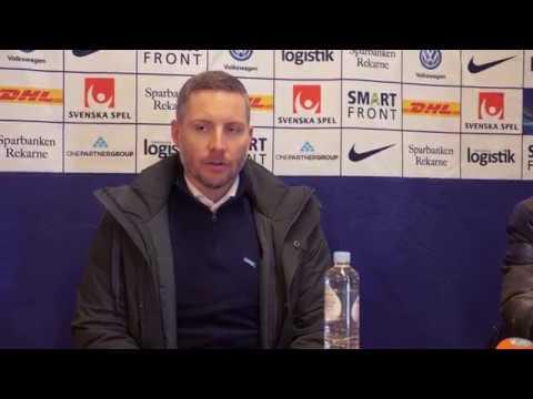 Presskonferens: AFC Eskilstuna - ÖSK