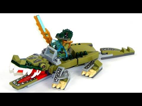 Vidéo LEGO Chima 70126 : Le croco légendaire