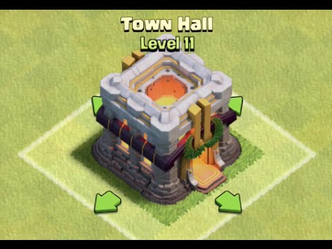 Clash of Clans Upcoming Update Brings Town Hall Level 11, New Hero ...