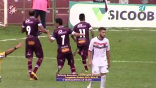 Confira os gols da partida entre Sertãozinho 2 x 1 Oeste e a grande defesa de pênalti do goleiro Marcio.