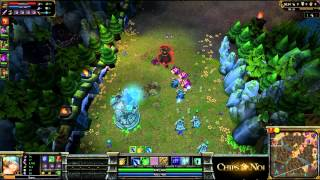 (HD189) Unreleased Replay - Commentaire Baguette - League Of Legends Replay [FR]