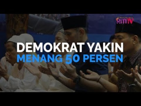 Demokrat Yakin Menang 50 Persen