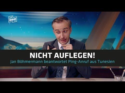Nicht auflegen! Jan Böhmermann beantwortet Ping-Anruf aus Tunesien | NEO MAGAZIN ROYALE - ZDFneo