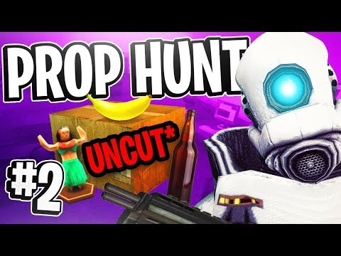 Garry's Mod Prop Hunt w/ Friendos #2