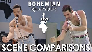 Video Live Aid | Bohemian Rhapsody (2018) - scene comparisons MP3, 3GP, MP4, WEBM, AVI, FLV Maret 2019
