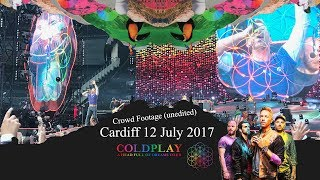 Coldplay were back at the Principality Stadium on the 12 July 17 for their second performance of their A Head Full of Dreams tour.
