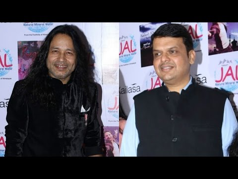 Devendra Fadnavis Praises Kailash Kher On Receiving Padmashri Award