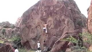 Badami India  city images : Bouldering in Badami, India