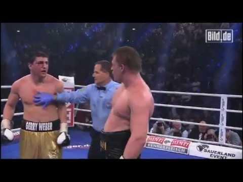 huck - Hier sind die Highlights vom Kampf Marco Huck der extra für diesen Kampf vom Cruisergewicht ins Schwergewicht umgestiegen ist gegen den WBA-Weltmeister aus R...