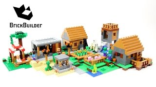 LEGO MINECRAFT 21128 The Village - Speed Build for Collecrors - Collection 57 sets
