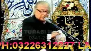 08 - Nizam e Naboovat aur Quran - Allama Talib Johri Muharam 1434 / 2012