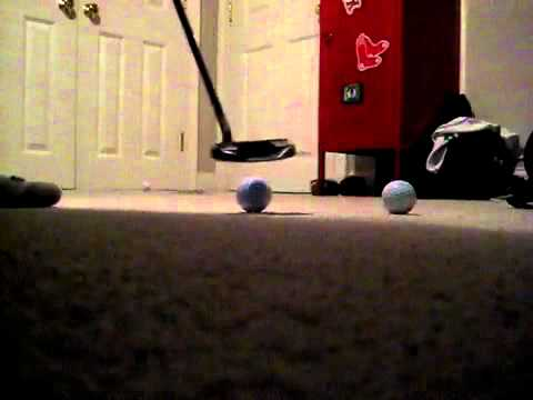 Putting with my Scotty Cameron