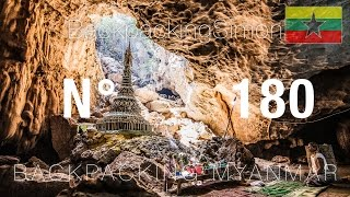 Hpa An Myanmar  city photos : Wunderschöne Höhlen in Hpa An Myanmar / Weltreise Vlog / Backpacking #180