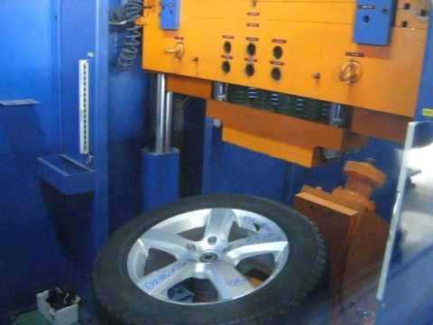 Проверка прочности диска WSP Italy W451 DHAKA на удар обода (Volkswagen)
