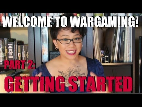 How to start in miniature wargaming!