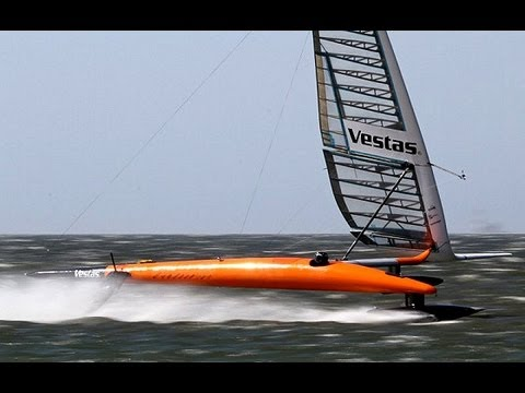 Paul Larsen & Vestas Sail Rocket 2 - Smashing the Sailing World Speed Record - An Inside Look