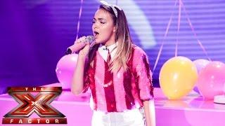 Lauren Platt sings Pharrell's Happy | Live Week 1 | The X Factor UK 2014