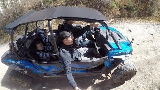 10. Shredding The Mountain In A Polaris RZR XP 4 1000 EPS - GoPro HERO5