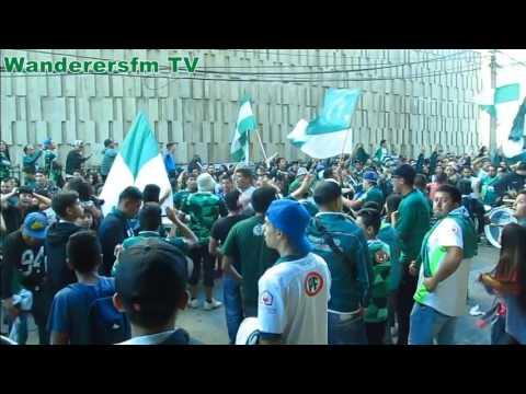 Wanderazo en Valparaíso - Los Panzers - Santiago Wanderers