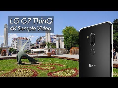 LG G7 ThinQ 4K Sample Video