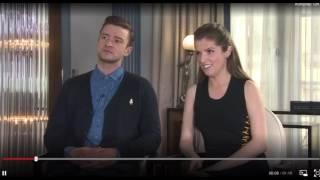 Anna Kendrick & Justin Timberlake on Singing