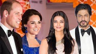 Video Royal Dinner Party for Kate Middleton & Prince William | Shahrukh Khan Aishwarya Rai | FULL EVENT MP3, 3GP, MP4, WEBM, AVI, FLV Oktober 2018