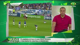 Comentarista afirma que diante do desempenho das equipes na tarde de ontem (16) no Mineirão, o resultado ficou de bom ...