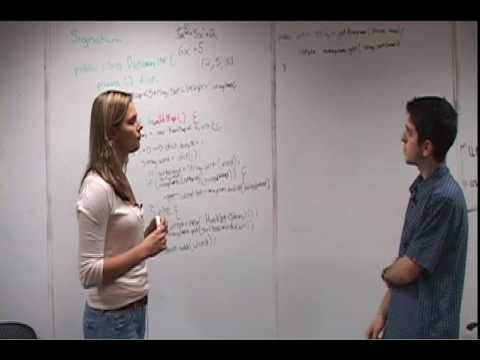 coding - Cracking the Technical Interview (Video) is one-hour long video to show you what a Google/Microsoft-style interview is like, and what you should and shouldn'...