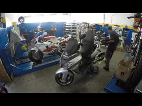 LR Motos - Processo de Manutenção da Dafra Laser 150 Prata - 7398
