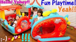 Video Toys: Ball Pit Play Sets. Pool of Plastic Balls! Inflatable Play Tent Playtime. Fidget Spinners! MP3, 3GP, MP4, WEBM, AVI, FLV Mei 2017