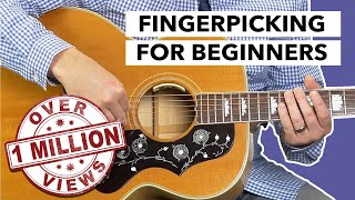 Video Fingerpicking For Beginners Learn the #1 Technique Within 5 Minutes MP3, 3GP, MP4, WEBM, AVI, FLV Juli 2018