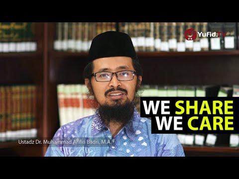 Video Renungan Islami: We Share, We Care – Nasehat dalam ...