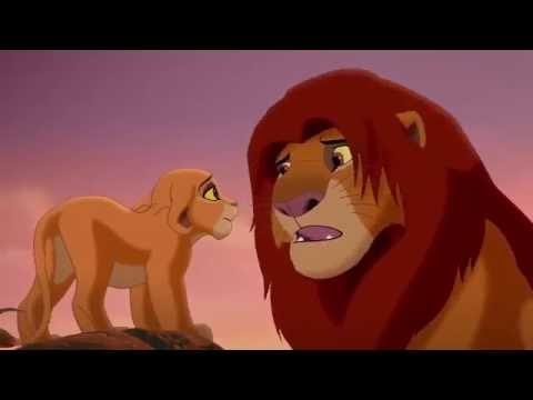 The Lion King 2 Simba's Pride   Simba Talks to Kiara HD