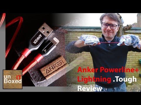 Anker Powerline+ Lightning Tough Test