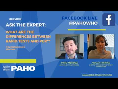 ASK THE EXPERT: What are the differences between rapid tests and PCR?
